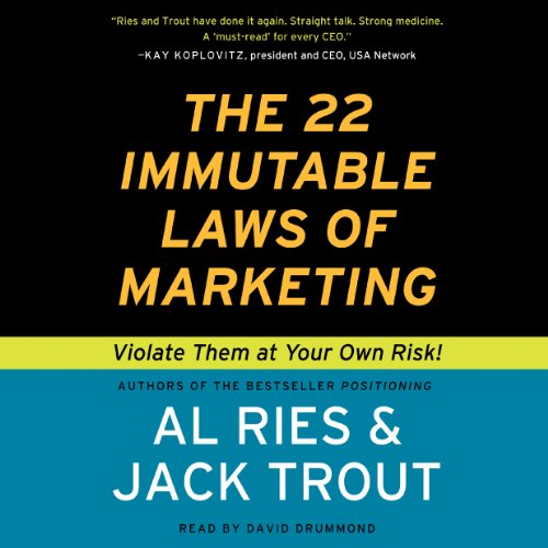 The 22 Immutable Laws of Marketing Titelbild