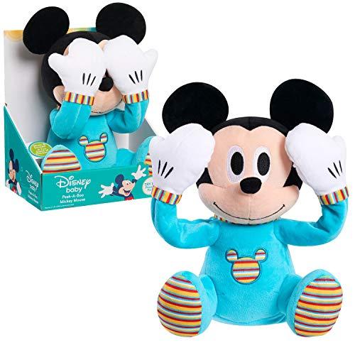 Disney Baby Peek-A-Boo Plush, Mickey Mouse