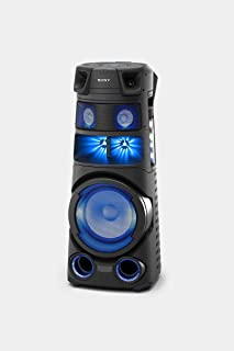 Sony MHC-V83D High Power Audio System with Bluetooth Technology | V83D Home Audio System with 360 Degree Light and Sound