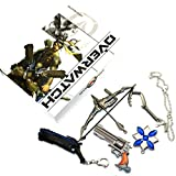 OW Reaper McCree Roadhog Weapons Collection Sets Keychain/Necklace/Jewelry Cosplay Accessories with Luxury Box