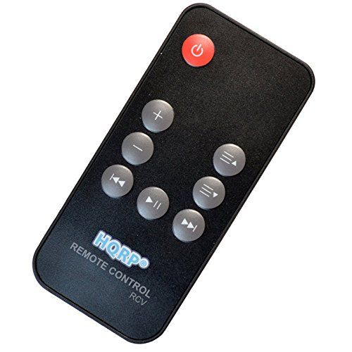 HQRP Remote Control Compatible with Bose SoundDock Series II, Series III, Series-2, Series-3, SoundDock Portable Digital Music System Speaker Dock Controller