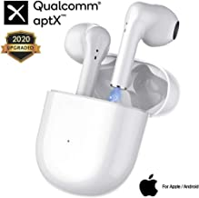 Bluetooth5.0 Wireless Earbuds Headsets【24Hrs Charging Case】3D Stereo IPX5 Waterproof Headphones Pop-ups Auto Pairing Fast Charging for Earphone for iPhone/Airpods/Airpod/Airpod pro