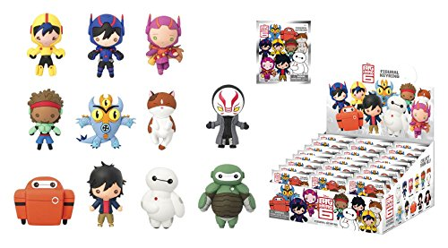 Big Hero 6 Disney 3D Keyring Blind Packaging Figure