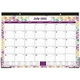 2020-2021 Desk Calendar - 18 Months Desk/Wall Calendar, 17' x 12', Large Monthly Desk Calendar, Jul 2020 - Dec...