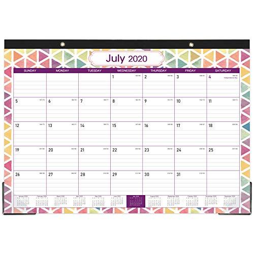 2020-2021 Desk Calendar - 18 Months Desk/Wall Calendar, 17
