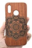 PhantomSky Wooden Protective Case Compatible for Huawei