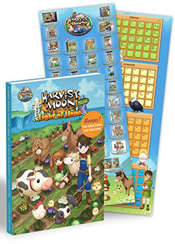 Harvest Moon: Light of Hope A 20th Anniversary Celebration: Official Collector's Edition Guide