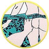 Parche termoadhesivo para la ropa, diseño de Submarina de l