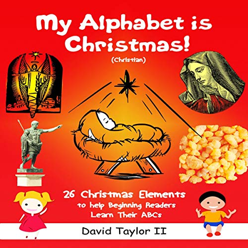 My Alphabet Is Christmas! (Christian)  By  cover art