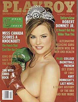 Playboy Magazine December 1997 by Playboy