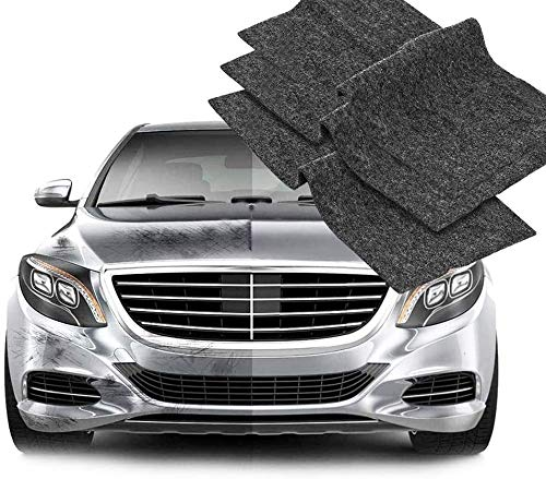 3PCS Nano Sparkle Cloth for Car Scratches, Nano Magic Cloth Scratch Remover, Easily Repair Paint Scratches and Water Spots