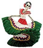 Day of the Dead Dancing Senorita (H: 5.5' x L: 6' x W: 4.5' & 2.25 lbs)