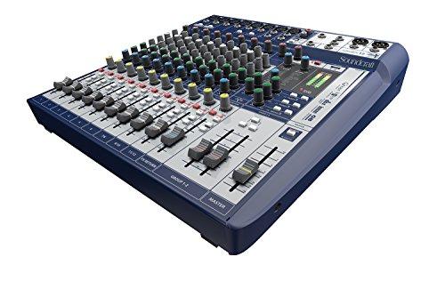 Price comparison product image Soundcraft Signature 12 Compact Analogue Mixing - Your Signature Sound