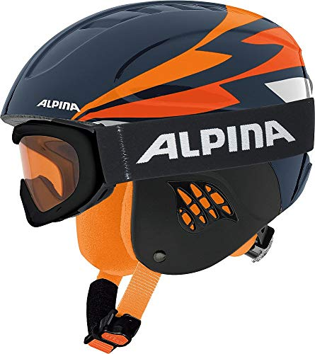 ALPINA Carat Set Kinderskihelmset - 51