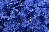 Magik 1000~5000 Pétales de rose en soie pour décoration de table de mariage, plusieurs choix, bleu, 2000