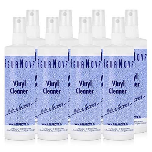 8x AguaNova Vinyl Cleaner 250 ml, Pflege und Schutz für Wassermatratzen