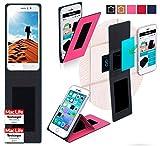 reboon Hülle für JiaYu G5 Advanced Tasche Cover Case Bumper | Pink | Testsieger