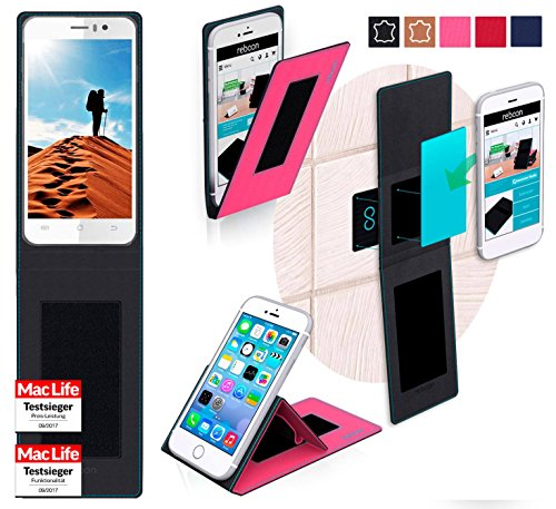 Hülle für JiaYu G5 Advanced Tasche Cover Hülle Bumper | Pink | Testsieger