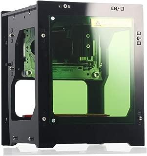 L- aser Engraver Printer, NEJE DK-BL 3000mW Portable Bluetooth L-aser Engraving Cutting Machine USB L- aser Carver Marking Machine DIY Kit, Advanced APP Control for Smartphone/Tablet/PC