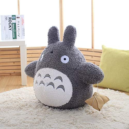 N / A Huggable Totoro Plush Toys Soft Stuffed Animal Cartoon Pillow Cushion Cute Fat Cat Chinchillas Children Birthday 30cm
