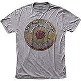 Photo de Authentic Grateful Dead American Beauty Album Record Cover Tri-Blend T-Shirt Top