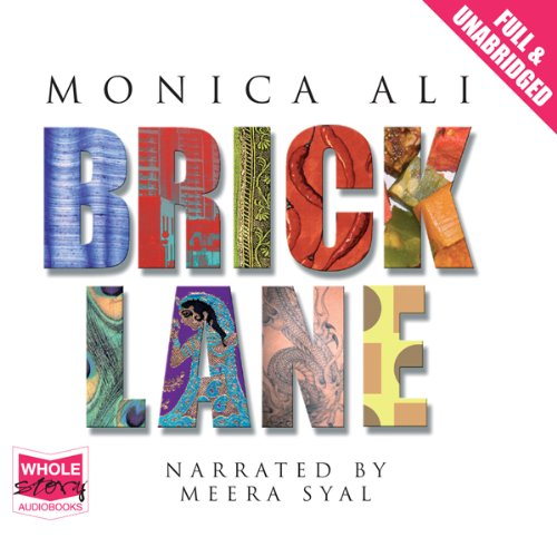 Brick Lane audiobook cover art
