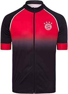 FC Bayern München Fahrradtrikot FC Bayern schwarz/rot