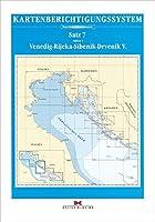 Berichtigung Sportbootkarten Satz 7: Adria 1 (Ausgabe 2020): Venedig - Rijeka - Sibenik - Drvenik V.