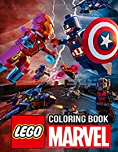 Lego Marvel Coloring Book: Funny Coloring Books with 50+ Super Heroes Illustration for Creative Children Boys & Girls Kids Ages 4-12
