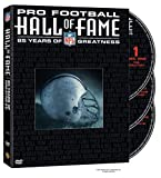 NFL Hall of Fame Complete History (DVD, 2005, 3-Disc Set)  BRAND NEW, SEALED