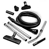Set di 9 accessori per aspirapolvere universale per pavimenti, spazzola per fessure, tubo di aspirazione per AEG Candy Dirt Devil Hoover Privileg Zanussi Zanker Philips