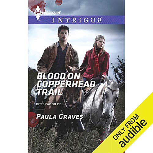 Blood on Copperhead Trail audiobook cover art