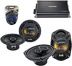 Compatible with Hyundai Sonata 2006-2008 OEM Speaker Upgrade Harmony R65 R69 & CXA300.4 Amp (Renewed)
