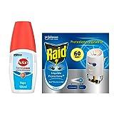 Kit Protezione dalle zanzare Raid Autan: Autan Family Care Vapo 1 confezione da 100ml + Raid Liquido Elettrico Protezione + 1 base e 1 ricarica