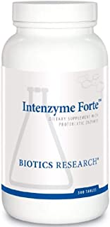 biotics research intenzyme forte 500 tablets
