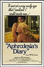 Aphrodesia's Diary Movie Poster (27 x 40 Inches - 69cm x 102cm) (1984) -(Dominique Saint Claire)(Kevin James)(Lisa Cintrice)(Joanna Storm)(Vanessa del Rio)(Morgane)