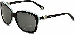Tiffany 4076 80553F Black TF4076 Square Sunglasses Lens Category 2 Size 58mm