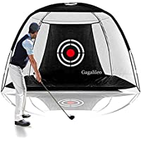 Galileo Golf Hitting Training Aids Practice Net With Target Carry Bag