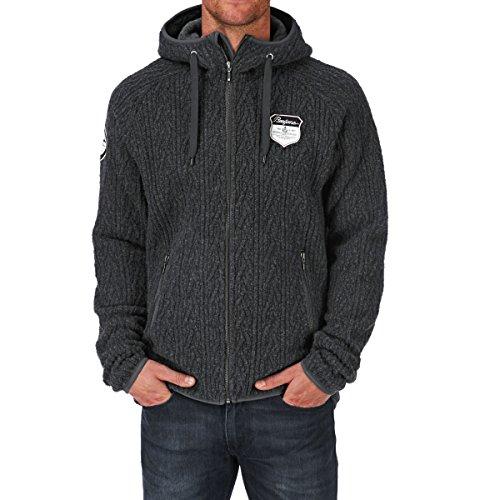 Bergans Bergflette Jacket Herren solid Charcoal Größe S 2017 Funktionsjacke