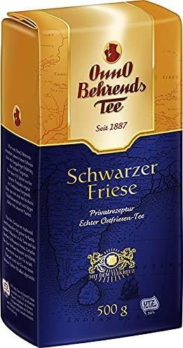 Onno Behrends Schwarzer Friese | Loser Tee | 500g | Vegan | Glutenfrei | Laktosefrei