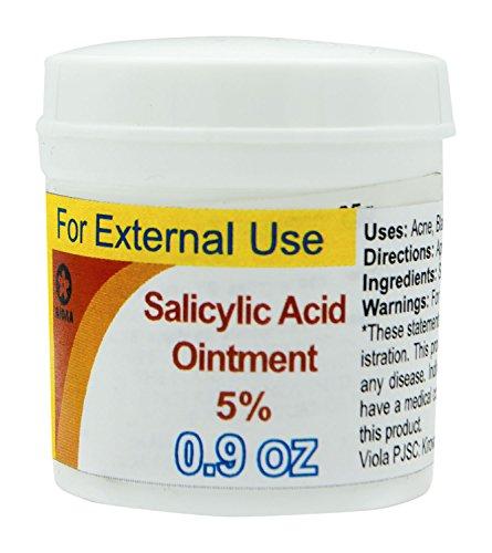 Salicylic Acid Ointment, 25g/0.9 Oz (5% Ointment)