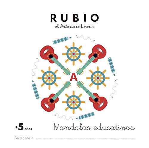 Mandala educativo +5 años: 3 (Mandalas Educativos RUBIO)