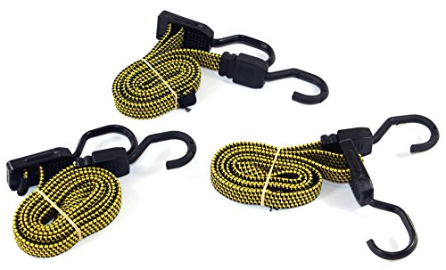 Spanngummi 3 Stück verstellbar -K&B Vertrieb- Spannband Expander Gummispanner Planenhalter 037 Spanngummis