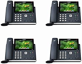 $769 » Yealink IP Phone SIP-T48S 4-Pack 16 SIP accounts HD Voice PoE Support