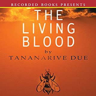 The Living Blood audiobook cover art