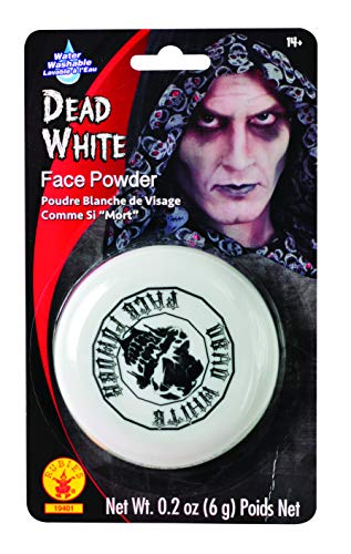 Rubies Dead White Face Powder Compact