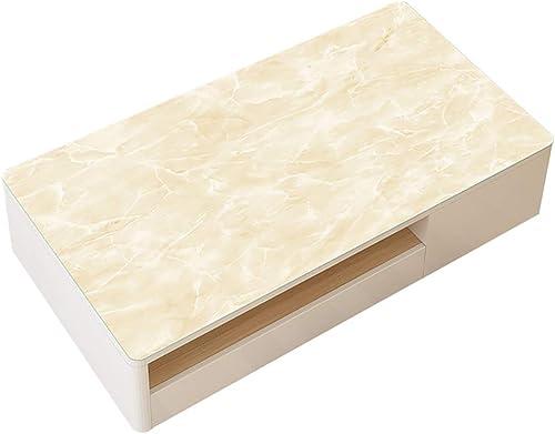 Hongsebuyi Tischdecke PVC Transparent Weißhplastik Tischdecke Antifouling Anti-Verbrühung Tee Tischdecke Kaffee Tischdecke Dicke 1,5 MM (Größe   85x140cm)