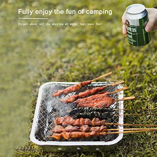 51RDx2iGZsL. SL500  - Rapoyo Griller: Handliche Einweggrills, Sofortgrill Holzkohlegrill, instant BBQ, Lange Brenndauer, Pocket Grill für Camping, Picknicks oder einfach für Ihren Garten