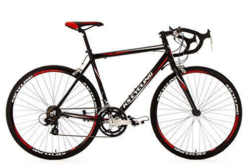 KS Cycling Rennrad 28'' Euphoria schwarz Alu-Rahmen RH 53 cm