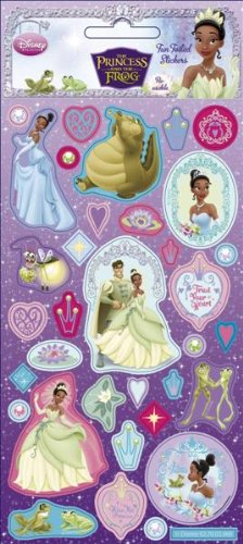 The Princess And The Frog - Foil Sticker Pack - Sticker Style by Sticker Style